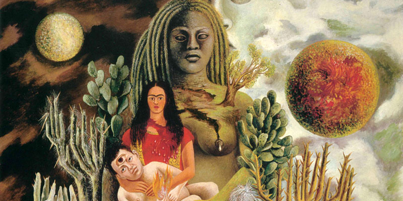 L'abbraccio amorevole dell'universo, la terra, Diego, io e il signor Xolotl  (1949)