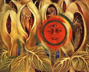 Frida Kahlo - Sun and Life (1947)