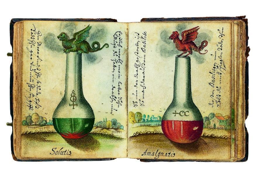 boccette alchemiche